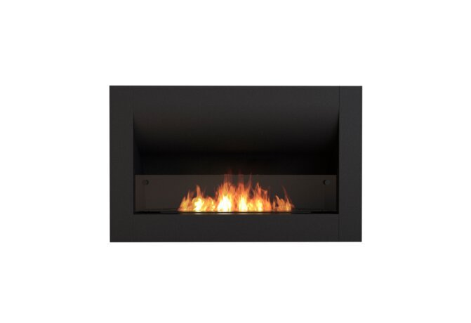Firebox 920CV Curved Fireplace - Ethanol / Black / Front View by EcoSmart Fire