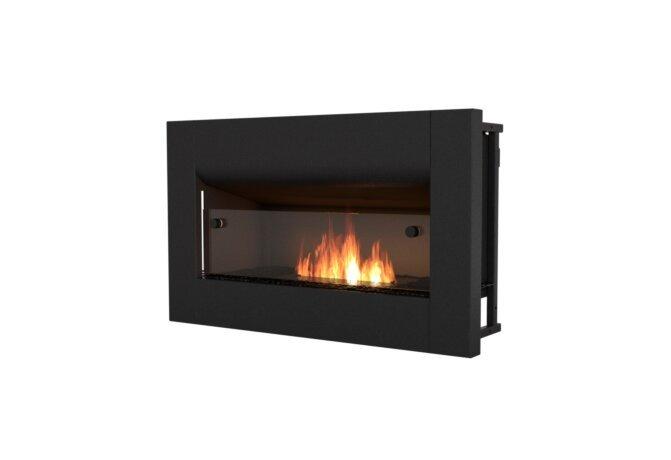 Firebox 650CV Curved Fireplace - Ethanol / Black by EcoSmart Fire