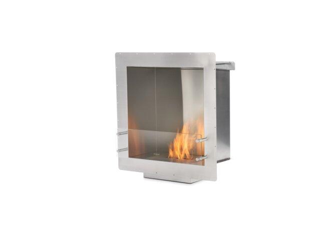 Firebox 650SS Fireplace Insert - Ethanol / Stainless Steel by EcoSmart Fire