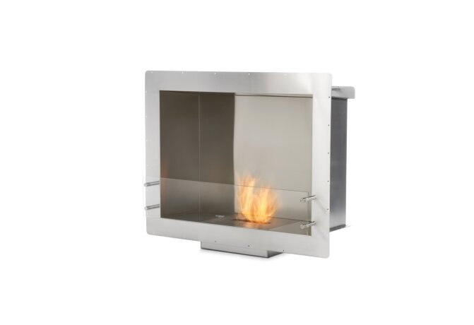 Firebox 900SS Fireplace Insert - Ethanol / Stainless Steel by EcoSmart Fire