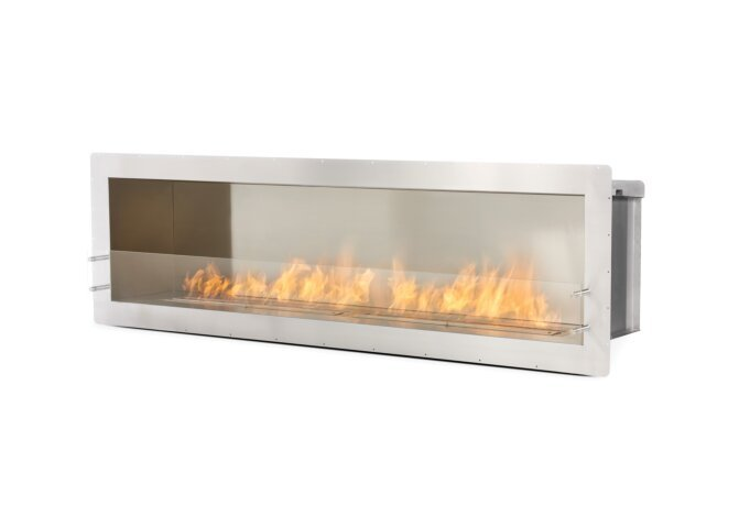 Firebox 2100SS Fireplace Insert - Ethanol / Stainless Steel by EcoSmart Fire