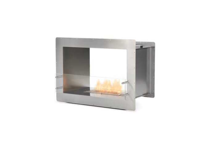 Firebox 800DB Fireplace Insert - Ethanol / Stainless Steel by EcoSmart Fire