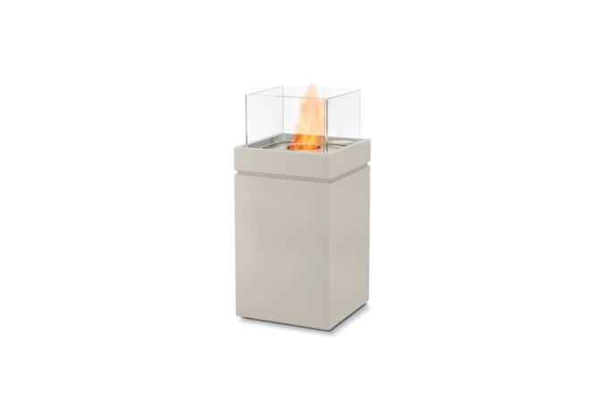 Tower Fire Pit - Ethanol / Bone by EcoSmart Fire