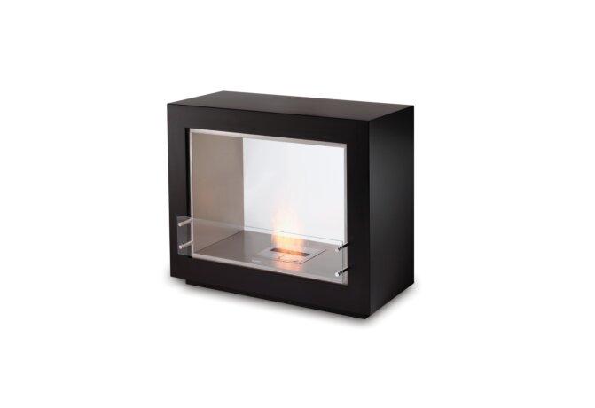 Vision Designer Fireplace - Ethanol / Black by EcoSmart Fire