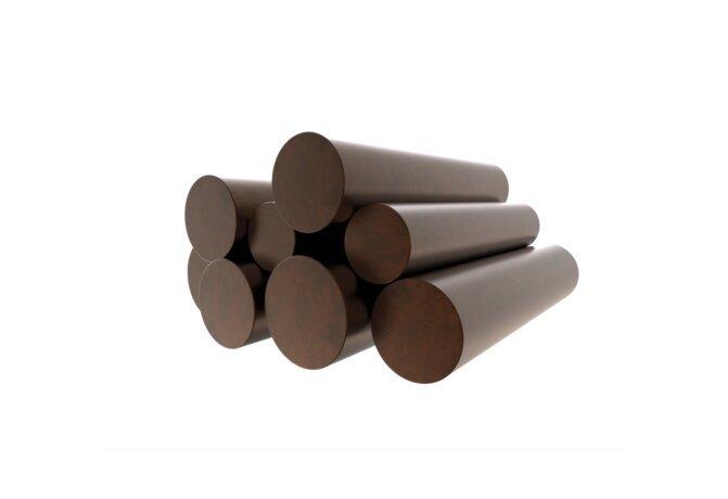 Log Set Copper Decorative Media - Ethanol / Copper by Blinde Design