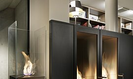 Merkmal Showroom Residential Fireplaces Designer Fireplace Idea