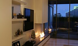 Pia Ruggeri Builder Fireplaces Ethanol Burner Idea