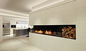 Flex 122LC.BX2 Flex Fireplace - In-Situ Image by EcoSmart Fire