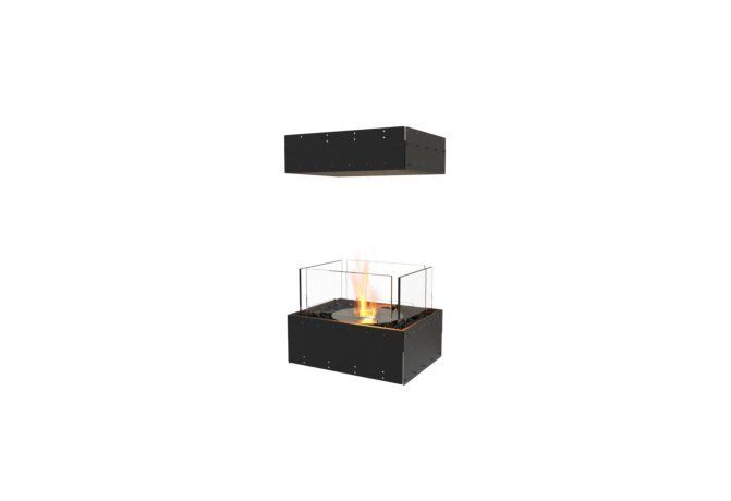 Flex 18IL Flex Fireplace - Ethanol / Black / Uninstalled View by EcoSmart Fire