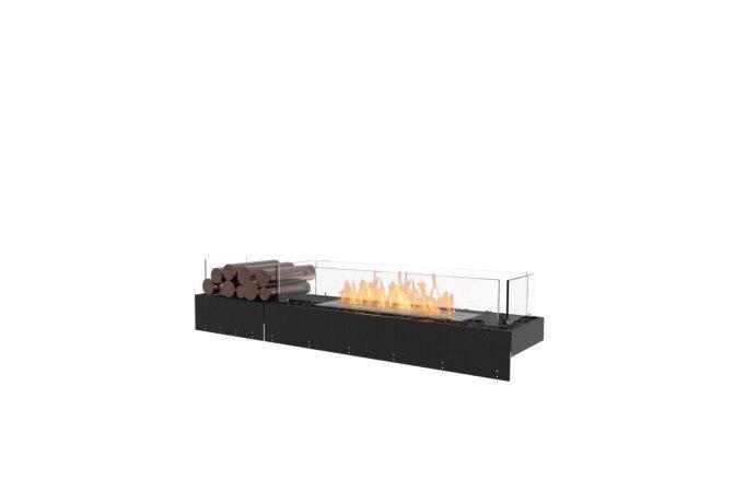 Flex 60BN.BX1 Bench - Ethanol / Black / Uninstalled View by EcoSmart Fire
