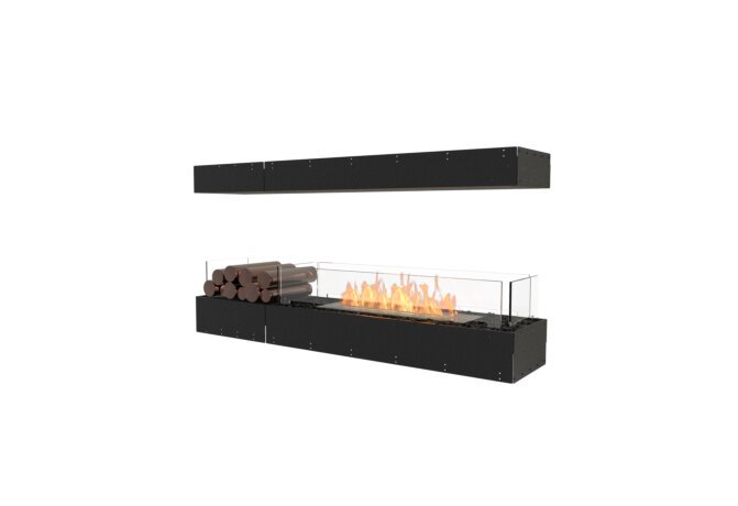 Flex 60IL.BX1 Island - Ethanol / Black / Uninstalled View by EcoSmart Fire