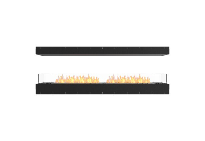 Flex 86IL Island - Ethanol / Black / Uninstalled View by EcoSmart Fire