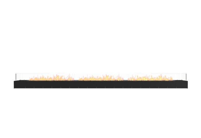 Flex 158BN Flex Fireplace - Ethanol / Black / Uninstalled View by EcoSmart Fire