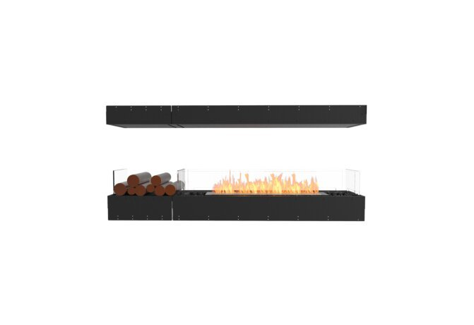 Flex 68IL.BX1 Island - Ethanol / Black / Uninstalled View by EcoSmart Fire