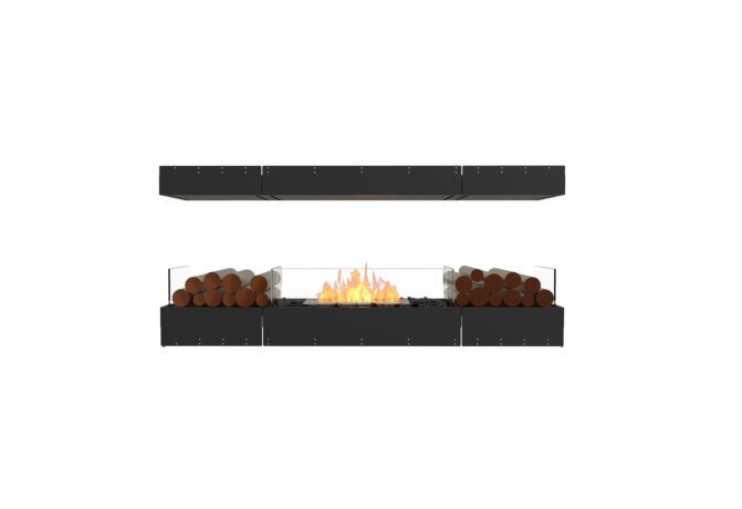 Flex 68IL.BX2 Island - Ethanol / Black / Uninstalled View by EcoSmart Fire