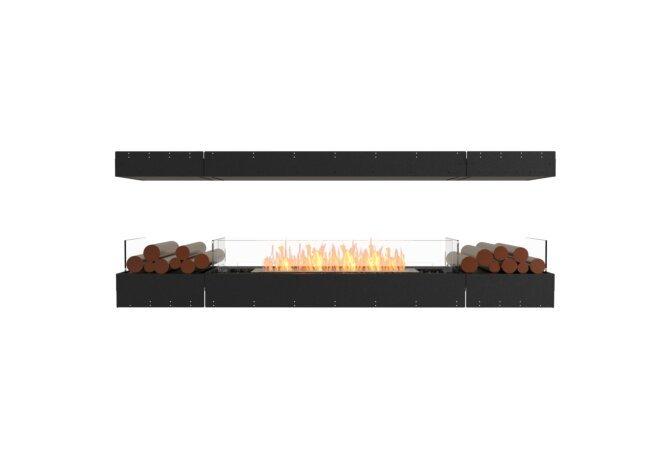 Flex 86IL.BX2 Island - Ethanol / Black / Uninstalled View by EcoSmart Fire