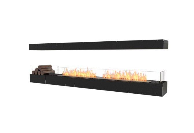 Flex 104IL.BX1 Flex Fireplace - Ethanol / Black / Uninstalled View by EcoSmart Fire
