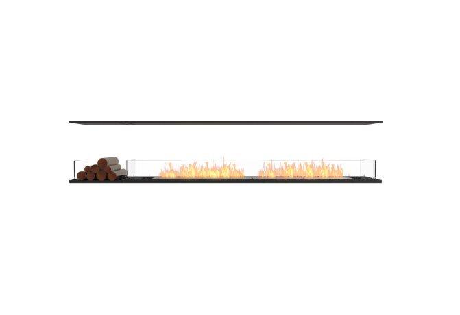 Flex 104IL.BX1 Flex Fireplace - Ethanol / Black / Installed View by EcoSmart Fire