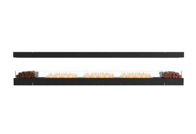 Flex 158IL.BX2 Flex Fireplace - Ethanol / Black / Uninstalled View by EcoSmart Fire