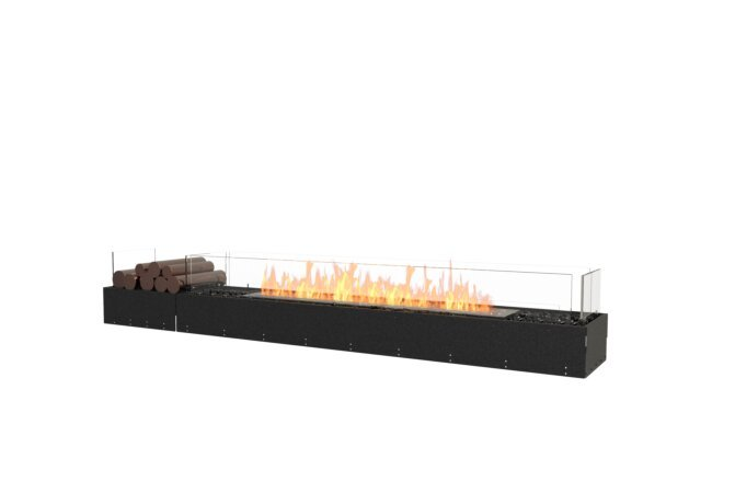 Flex 86BN.BX1 Flex Fireplace - Ethanol / Black / Uninstalled View by EcoSmart Fire