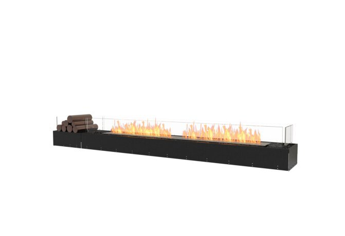 Flex 104BN.BX1 Bench - Ethanol / Black / Uninstalled View by EcoSmart Fire