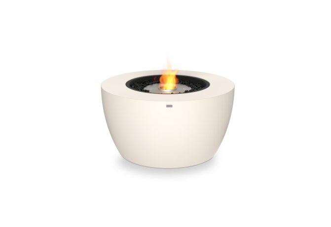 Pod 40 Fire Pit - Ethanol / Bone by EcoSmart Fire