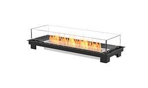Linear 50 Built-In Fireplace - Studio Image by EcoSmart Fire