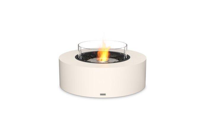 Ark 40 Fire Table - Ethanol / Bone / Optional Fire Screen by EcoSmart Fire