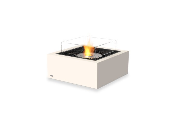 Base 30 Fire Table - Ethanol / Bone / Optional Fire Screen by EcoSmart Fire