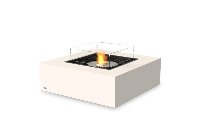 Base 40 Fire Table - Ethanol / Bone / Optional Fire Screen by EcoSmart Fire