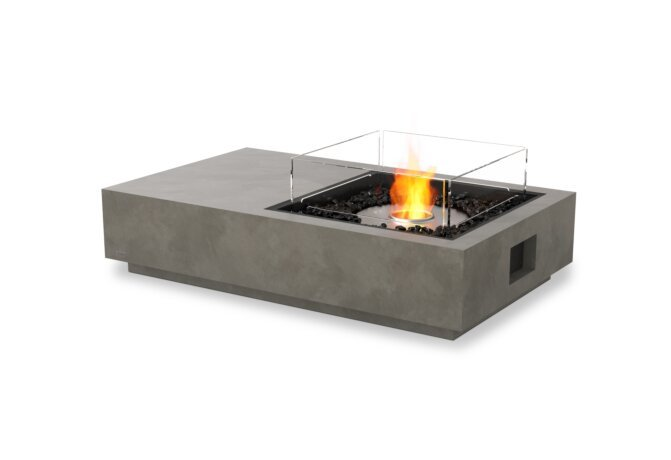 Manhattan 50 Fire Table - Ethanol / Natural / Optional Fire Screen by EcoSmart Fire