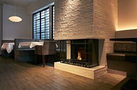 Grate 18 Indoor Fireplace - In-Situ Image by EcoSmart Fire