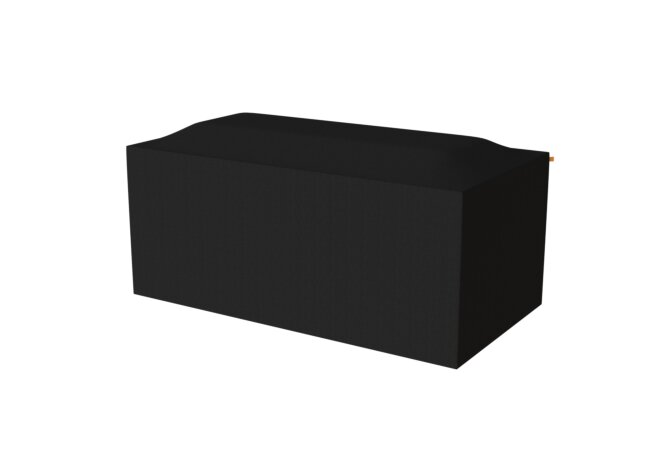 Gin 90 Bar Cover Parts & Accessorie - Black by EcoSmart Fire