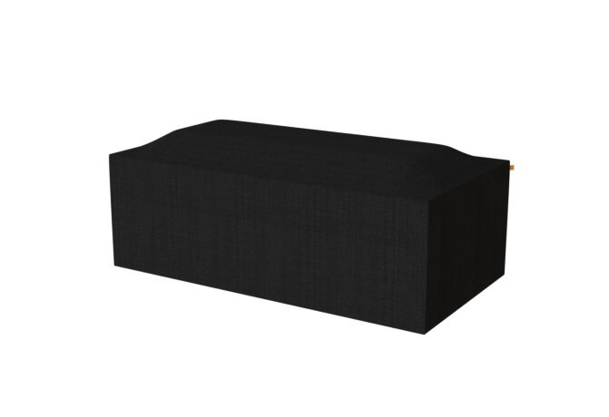 Gin 90 Dining Cover Parts & Accessorie - Black by EcoSmart Fire