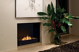 Grate 30 Fireplace Grate - In-Situ Image by EcoSmart Fire