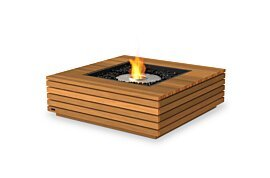 Base 40 Freestanding Fireplace - Studio Image by EcoSmart Fire