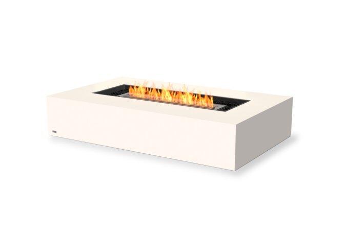 Wharf 65 Fire Table - Ethanol / Bone by EcoSmart Fire