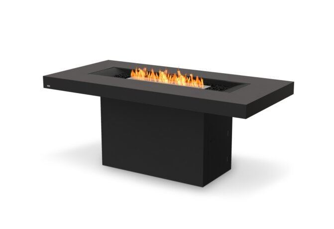 Gin 90 (Bar) Fire Table - Ethanol / Graphite by EcoSmart Fire