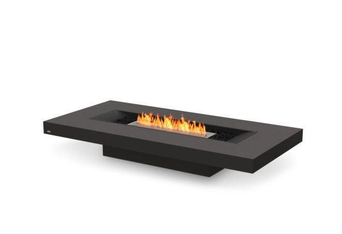 Gin 90 (Low) Fire Table - Ethanol / Graphite by EcoSmart Fire