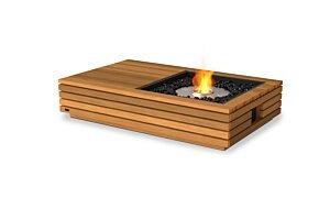 Manhattan 50 Freestanding Fireplace - Studio Image by EcoSmart Fire