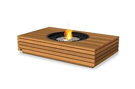 Martini 50 Freestanding Fireplace - Studio Image by EcoSmart Fire