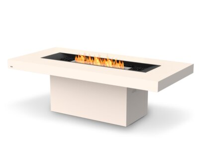 Gin 90 (Dining) Fire Table - In-Situ Image by EcoSmart Fire