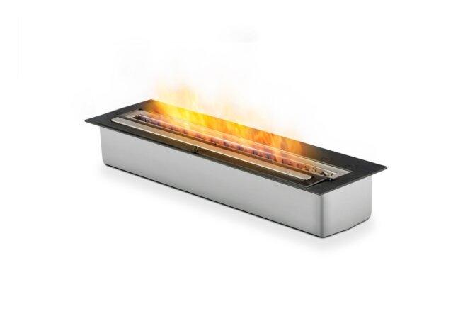 XL700 Ethanol Burner - Ethanol / Black / Top Tray Included by EcoSmart Fire