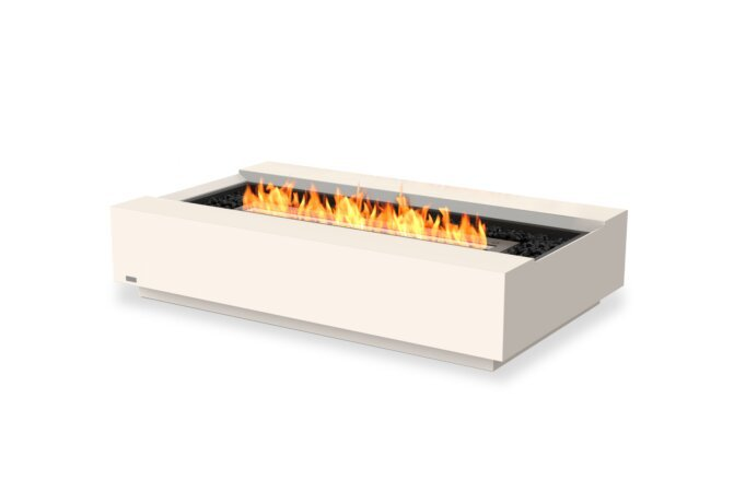 Cosmo 50 Fire Table - Ethanol - Black / Bone by EcoSmart Fire