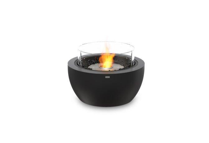 Pod 30 Fire Pit - Ethanol / Graphite / Optional Fire Screen by EcoSmart Fire
