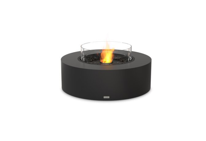 Ark 40 Fire Table - Ethanol - Black / Graphite / Optional Fire Screen by EcoSmart Fire