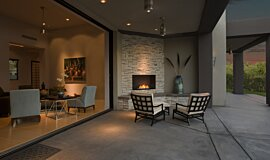 Outdoor Space Flex Fireplaces Flex Sery Idea