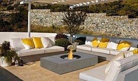 Pergola Freestanding Fireplaces Fire Table Idea