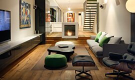 Albert Park Indoor Fireplaces Built-In Fire Idea