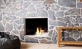 EcoOutdoor Double Sided Fireboxes Fireplace Insert Idea